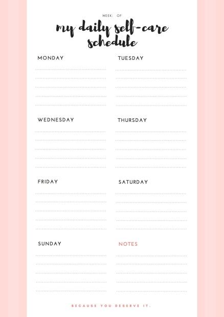 WeeklySchedule Planner